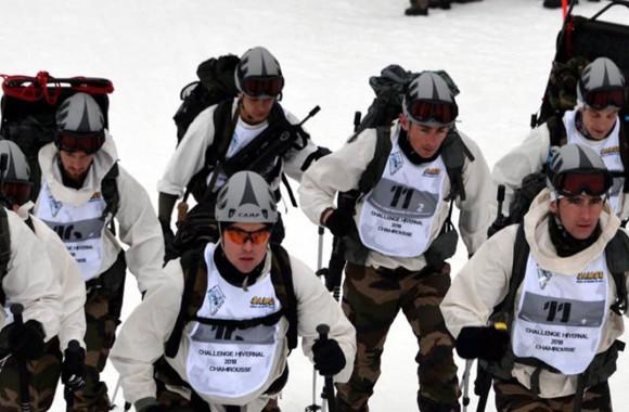La patrouille alpine