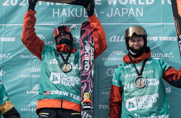 Reine Barkered de retour sur le podium du Freeride World Tour